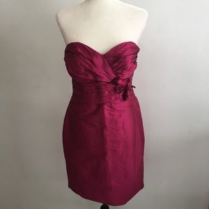 Alvina Valenta Maids New York Dress in cabernet